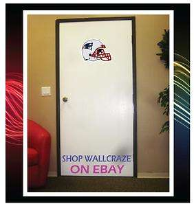 New England Patriots Helmet Removable Door Wall Decor Sticker Decal