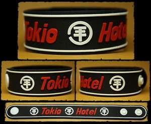 TOKIO HOTEL Rubber Bracelet Wristband White