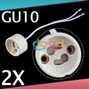 GU10 LED Halogen Bulb Lamp Light Socket Base Holder