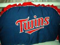 Baby Nursery Crib Bedding Set Minnesota Twins fabric