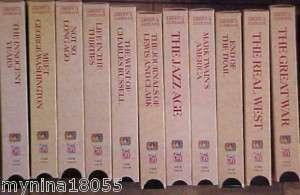 11 Time Life NBC News America Looks Back VHS Videos