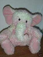 Baby Gund Sprinkles Speckles Pink Plush Elephant 5824