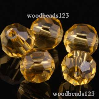Round 5000 Swarovski Crystal Beads  Pick Color New