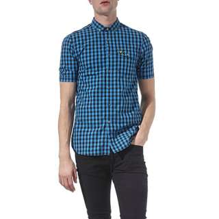 Gingham shirt   LYLE & SCOTT   Casual   Shirts   Menswear  selfridges