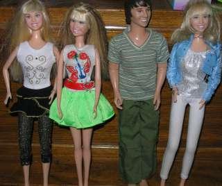 Disney Channel Hannah Montana Miley Stewart & Oliver Singing Dolls
