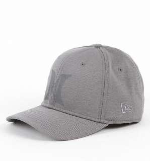 Gray New Era 39 Thirty Flex Fit Curved Bill Hat Cap New NWT