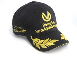 Michael Schumacher Formel 1 Cap Mütze schwarz 2011 NEU
