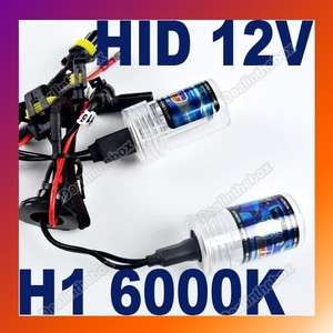 12 V 35 W HID Xenon Bulb H1 6000K Conversion Kit Car Head Lamp Light