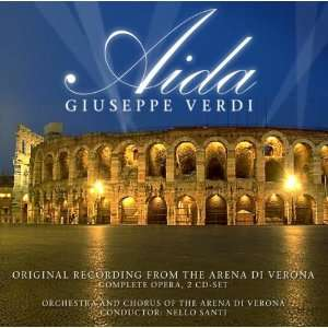 Aida Orig. Rec. from the Arena di Verona Giuseppe Verdi