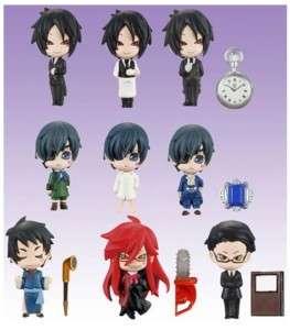 Bandai Kuroshitsuji Black Butler PPP Petit Figure Set