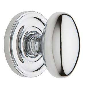 Baldwin Egg Half Dummy Knob Polished Chrome (5425.260.IDM) from The