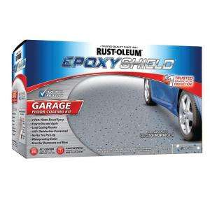 1 Gal Semi Gloss 2 Part Epoxy Garage Floor Coating Kit