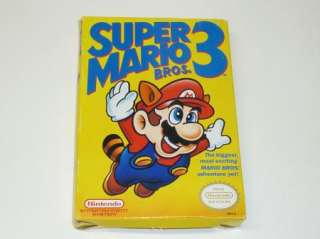 Super Mario 3 Complete In Box Nintendo Nes Game