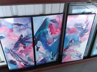 Lot #2 Wall Art   Peter Kitchell Palmate Panther Henry Howells