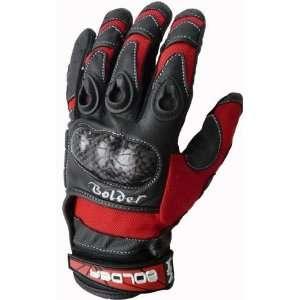 Kinder Motocross Handschuhe Farbe rot , Größe 5  Auto