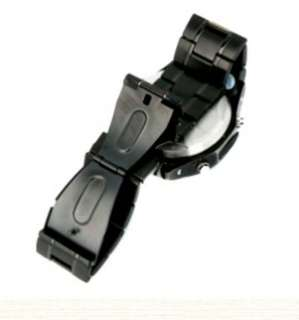 HOT W968 Wrist Watch Cell Phone Mobile  Mp4 Bluetooth Black