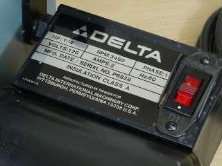 NICE DELTA 1 BELT SANDER MODEL 31 050   WORKS GREAT |