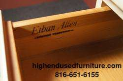ETHAN ALLEN Alabaster White CRP 40 Student Desk