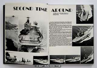 USS TARAWA LHA 1 WESTPAC CRUISE BOOK 1980 1981