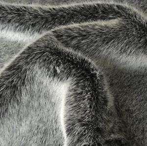 Husky weiches LUXUS Kunst Fell Pelz für Decke Jacke Mantel Meterware