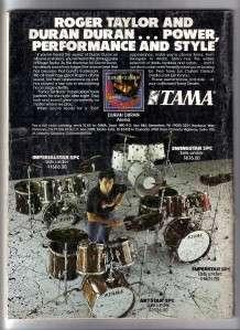 HIT PARADER ~ #247 APRIL, 1985 David Lee Roth, Iron Maiden, Kiss