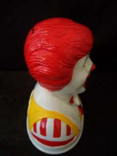 1993 RONALD MCDONALDS CLOWN BANK #A792