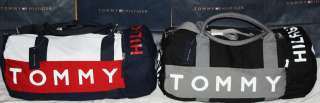 NWT TOMMY HILFIGER new LARGE duffle gym bag  SALE