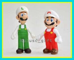 Super Mario Brothers Wii Figure Mario & Luigi Fire