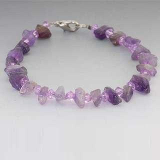 New Nature Gemstone Chips Handmade Fashion Bracelet V1