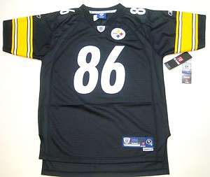 Reebok Pittsburgh Steelers Hines Ward Youth Stitched/Premier Jersey