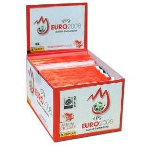 Panini UEFA EURO EM 2008 Fußball Sticker   100 Päckchen