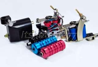 Complete Tattoo Kit 3 Top Machine Gun Ink Power Set NEW
