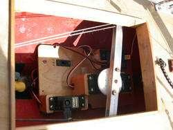 US 12 METER RADIO CONTROL RC SAILBOAT, COMPLETE