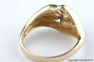 Perlenring in Gold Ring mit Perle Damenring