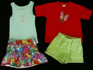 Huge Used Baby Toddler Girl 4T 5T Spring Summer Clothes Outfits Shorts