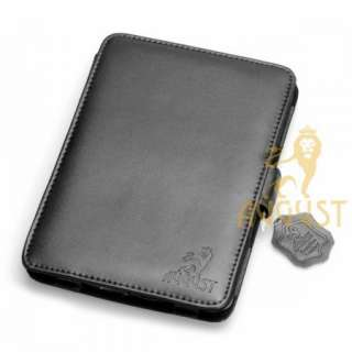 LEATHER CASE COVER FOR  KINDLE TOUCH WITH SLIM READING LIGHT