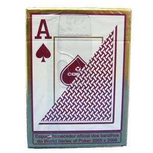 Copag Cards Texas Hold Em Bulk Black / Burg Poker Jumbo