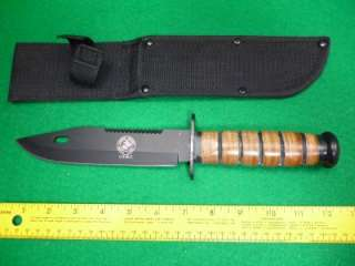 KA BAR Full Size US Marine Corp Fighting Knife KABAR Modern Style