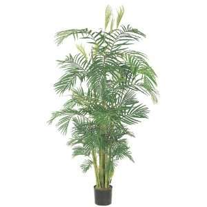 Pack of 2 Decorative Areca Palm Trees with Round Pots 9