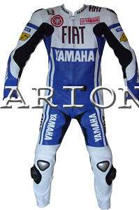 Top Quality 2 Piece Motorcycle Leather Suit   NEW 2010