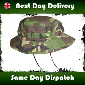 ARMY SPECIAL FORCES DPM BUSH HAT CAMOFLARGE JUNGLE BUSH CAP CAMO CADET
