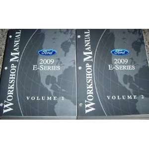 Ford Workshop Manual 2009 E Series, 2 Volumes (2009 E Series,Workshop
