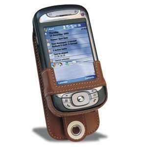 SX16503 Luxury leather case for Cingular 8525 (Tan) Electronics