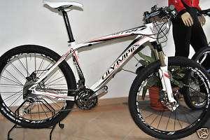 Bicicletta Olympia MTB Mod.NITRO Carbon White Tag.M