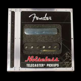 Fender Vintage Noiseless Telecaster Pickup Set Black
