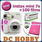 fujifilm instax mini 7s fuji instant polaroid camera £ 95 90 postage