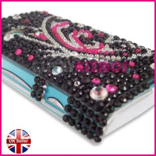SONY ERICSSON XPERIA X8 BLING DIAMOND GEM CASE COVER