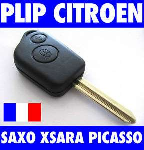 ★COQUE CLE PLIP TELECOMMANDE CITROEN SAXO XSARA PICASSO