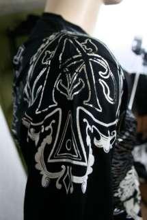 XZAVIER [ACE OF SPADES] T SHIRT M,L,XL,XXL ROCK BIKER