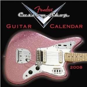 Fender Custom Shop Guitar 2008 Mini Wall Calendar Office